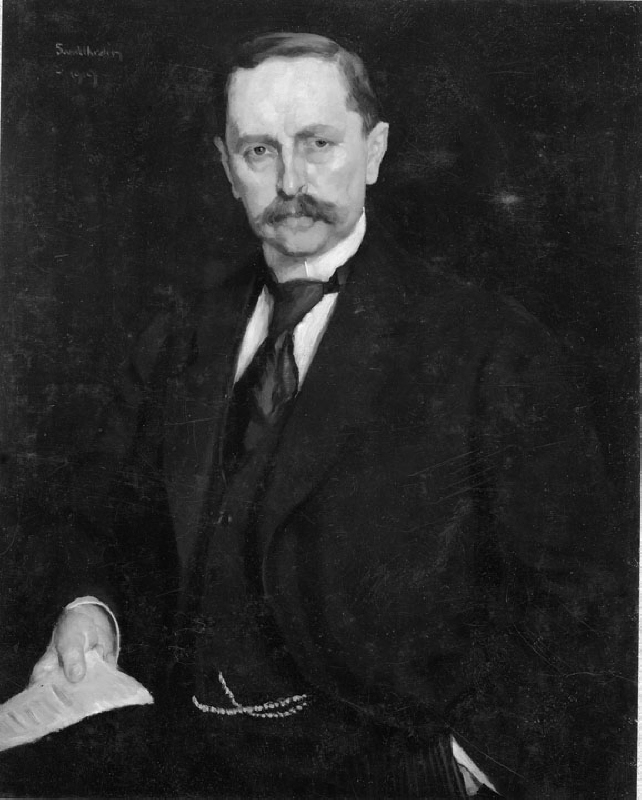 Nils Edén (1871-1945), prime minister, professor, married to Marja Wallmark