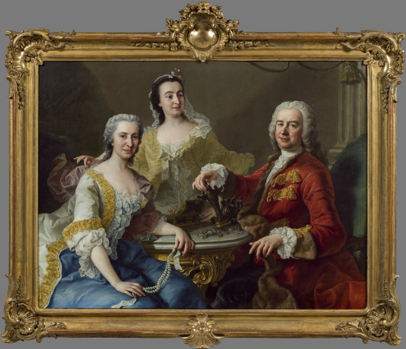 Joseph de France (1691-1761) and his Family