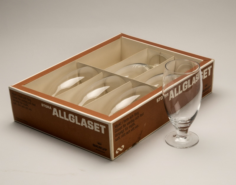 "Glass ""Glass for all occations"", in original packing"