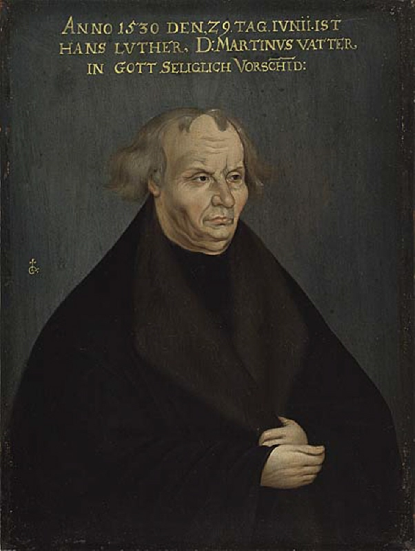 Portrait of Hans Luther