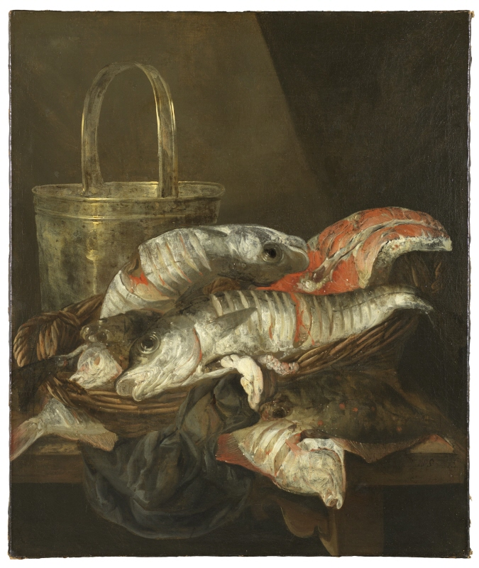Still Life with Haddocks and Plaice