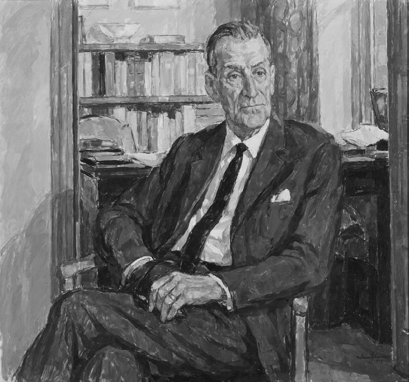 Harry Älmeby (1899-1970), Director General of Systembolaget, public Government official, married to Wanda Karlsson