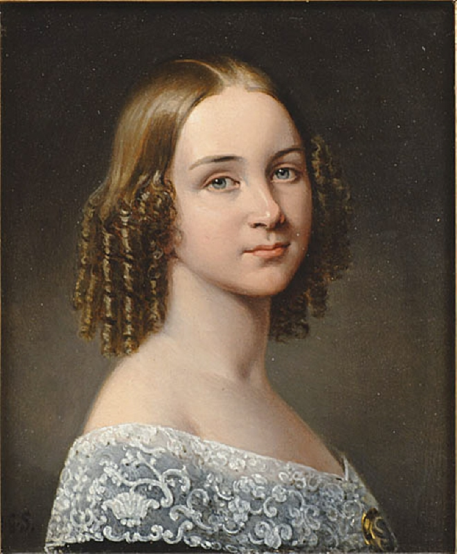 Jenny Lind (1820-1887), singer, married to pianist Otto Goldschmidt