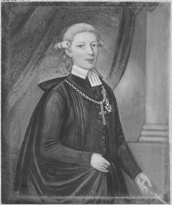 Magnus Lehnberg (1758-1808), bishop, ledamot of Svenska Akademien, married to Charlotta Sophia af Apelblad