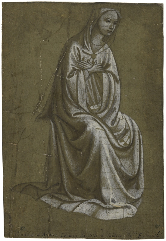 Study for the Virgin in an Annunciation