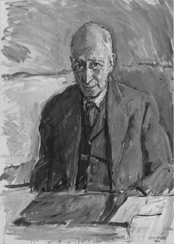 Alf Ahlberg (1892-1979), Doctor of Philosophy, author, principal, married to 1. Edith Larsson, 2. Rut Davidsson