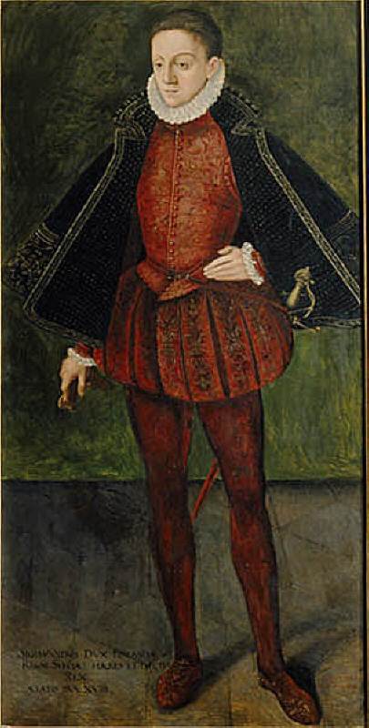 Sigismund I / III (1566-1632), king of Sweden, king of Poland, married to 1. Anna of Austria, 2. Konstantia of Austria