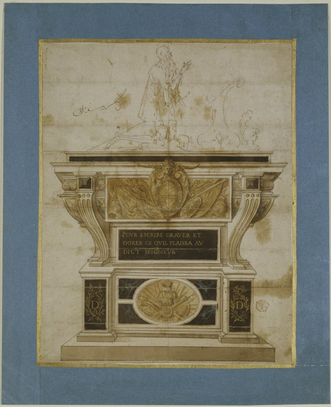 Project for a Tomb, possibly for Jean d'Estrées