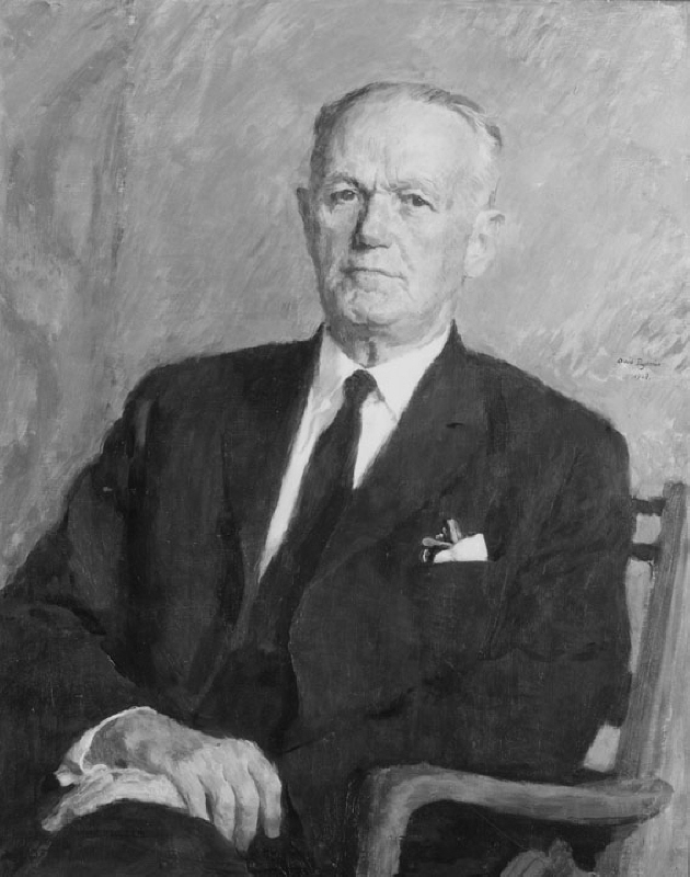 Sven Schwartz (1891-1976), doctor of philosophy honorary doctor, director, married to Ebba Ström