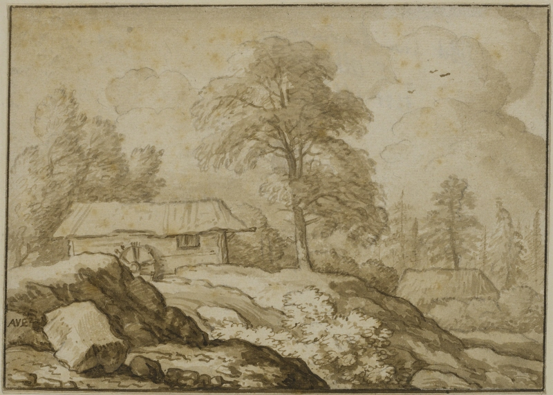 Northern Landscape with a Water Mill