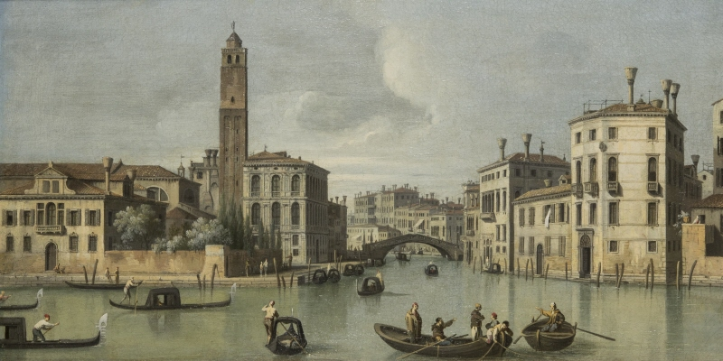 View of the church San Geremia and Cannaregio