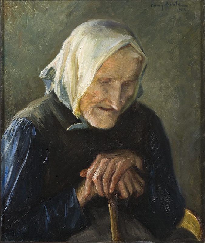 The Old Blind Woman