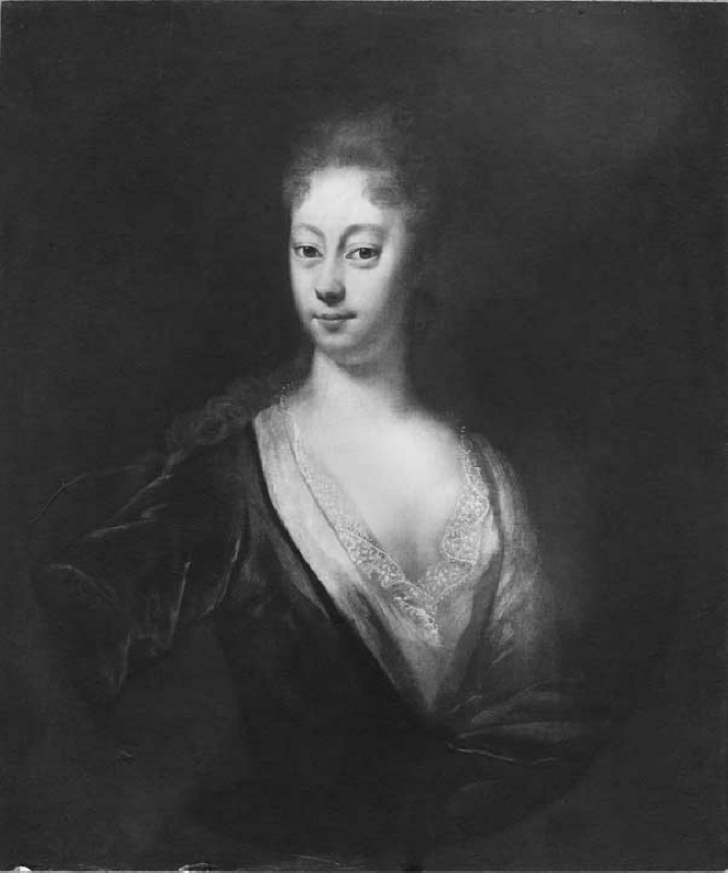 Brita Sofia Lilliehöök of Färdala (1694-1745), married to colonel Vilhelm Gerhard von Engelhardt