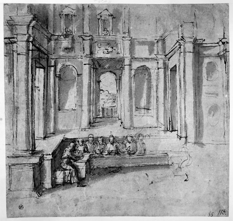 Study for a Last Supper