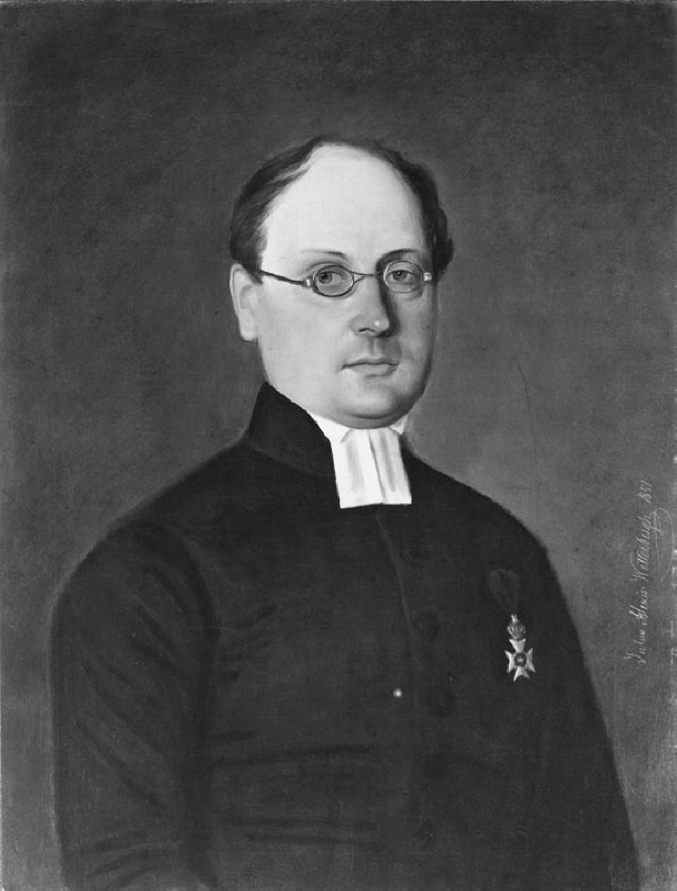 Johan Ludvig Runeberg (1804-1877), finnish-swedish author, married to Fredrika Tengström