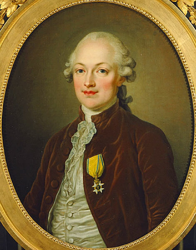 Erik Magnus Staël von Holstein (1749-1802), baron, lieutenant, ambassador to Paris, married to the author Anne Louise Germaine Necker