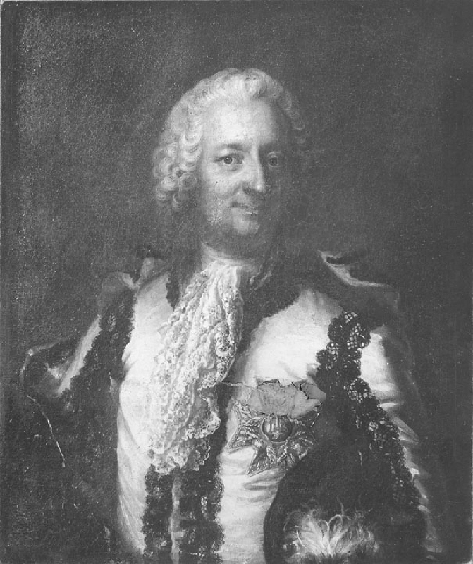 Carl Rudenschöld (1698-1783), count, councillor, diplomat, the chancellor of the Swedish universities, married to countess Christina Sofia Bielke