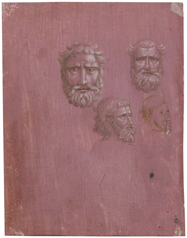 Four Male Heads
