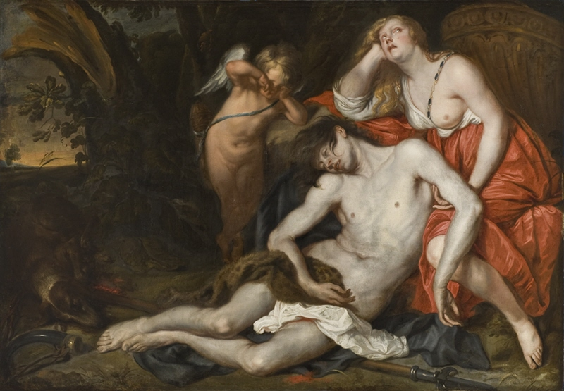 Venus Bewailing the Death of Adonis