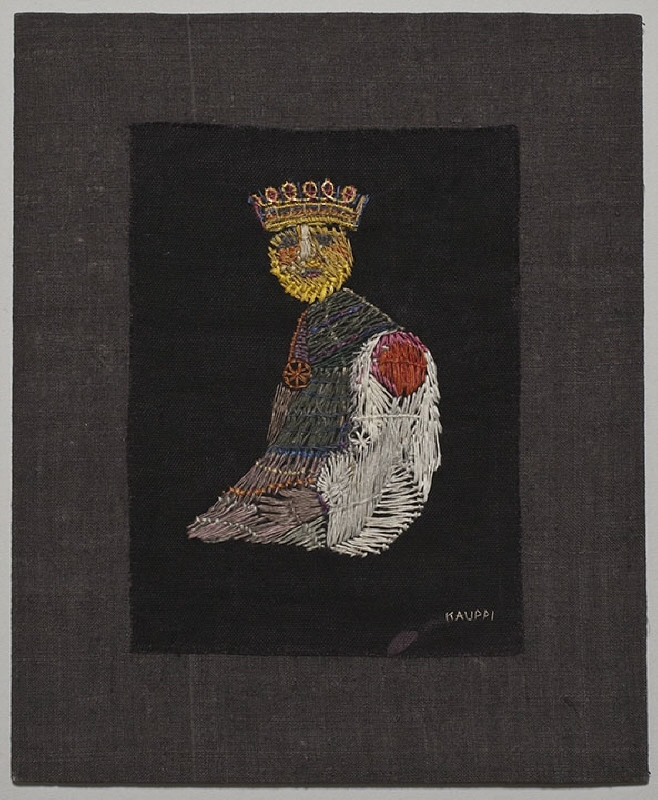 "Embroidery ""The King"""