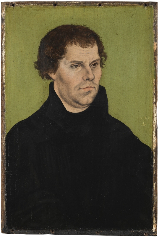 Martin Luther, theologian, reformer