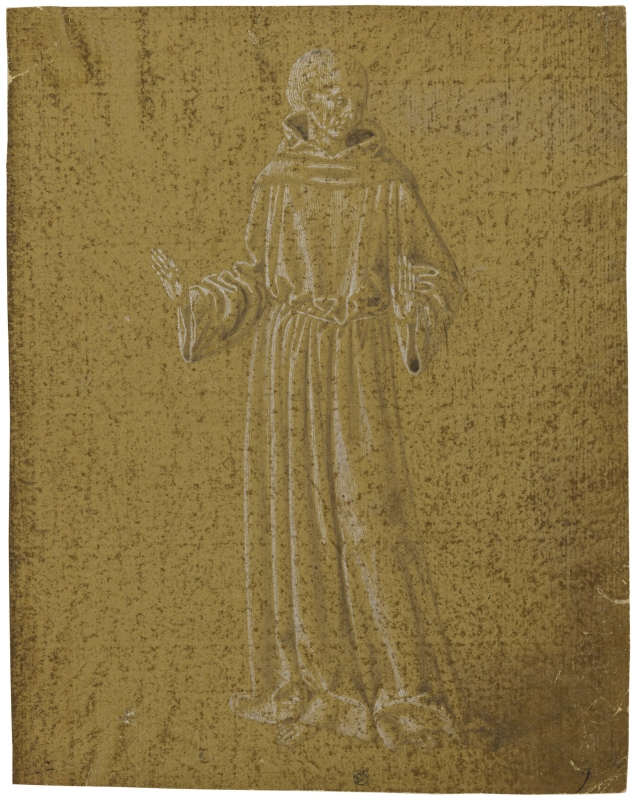 Franciscan Friar, Standing