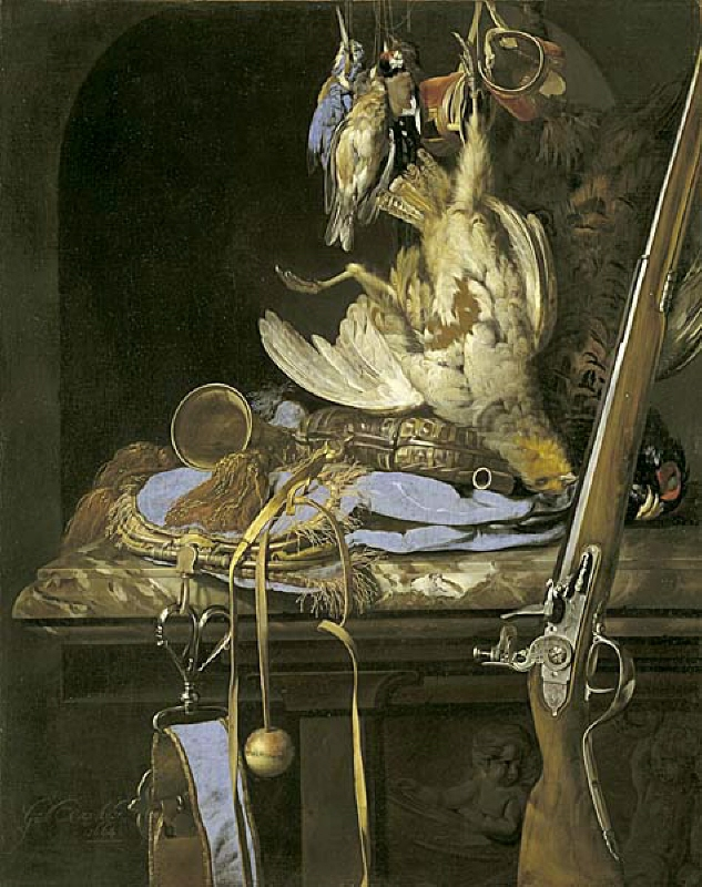 Still Life with Hunting Gear