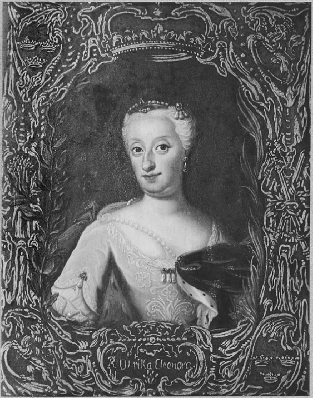 Ulrika Eleonora t.y. (1688-1741), queen of Sweden, married to Fredrik I of Sweden