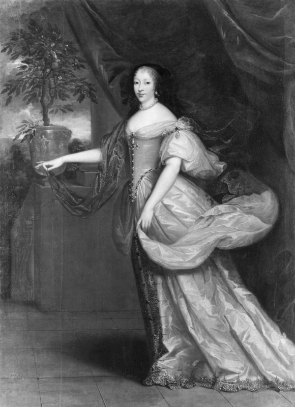 Anna Henrietta (1644-1670), princess of England, duchess of Orleans, married to Filip I of Orleans