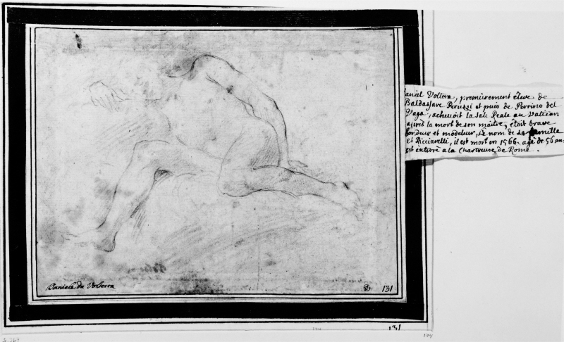 Study of a boy or putto