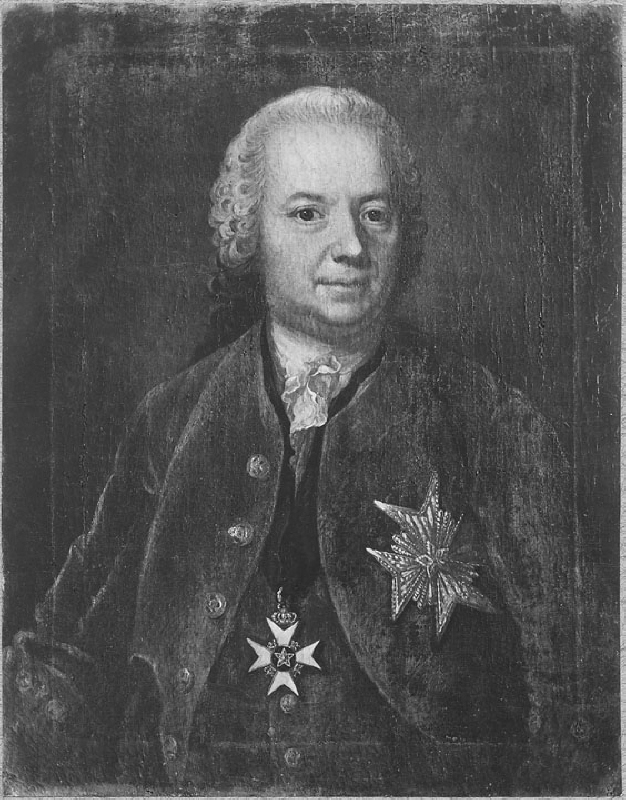 Edvard Carleson (1704-1767), state secretary, diplomat, public Government official, married to Clara Leystar