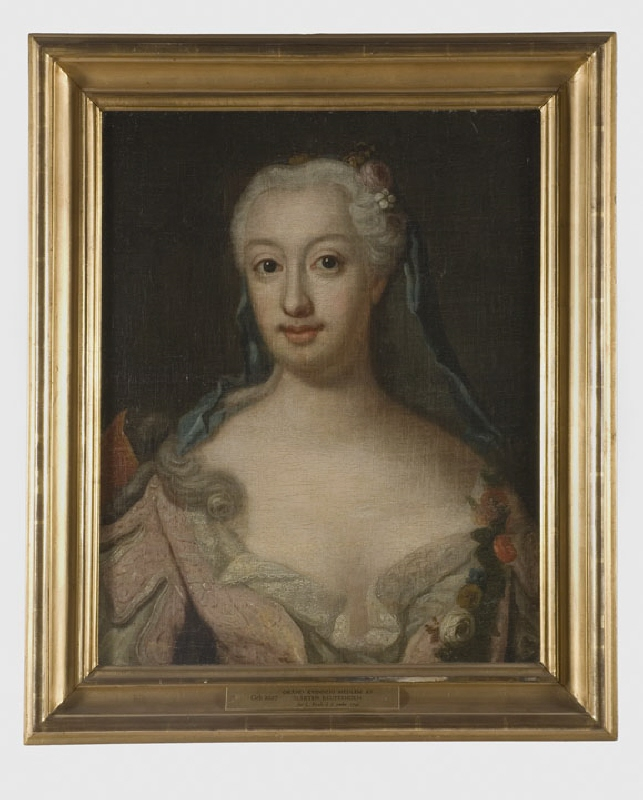 Unknown woman, member of the Reuterholm family, possibly Anna Katarina Reuterholm or Hedvig Sofia von Leopold