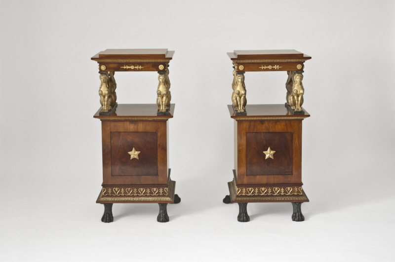 Night commodes, set of two
