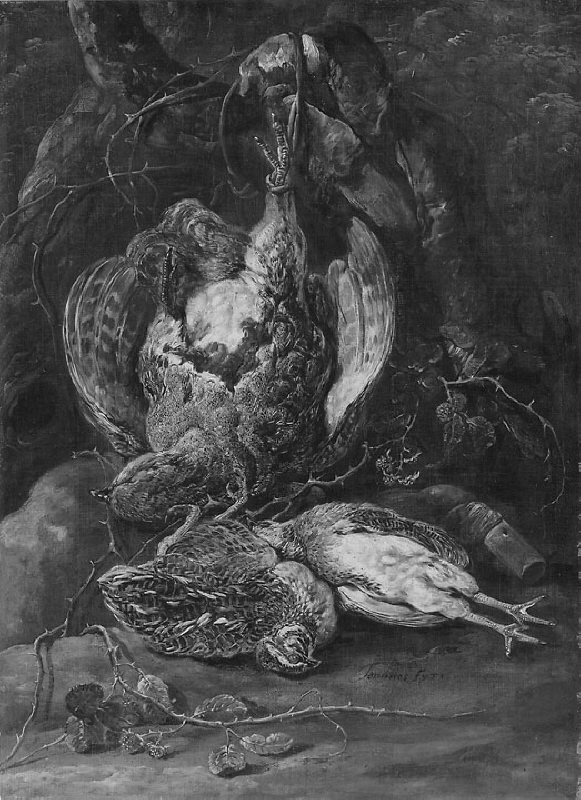 Still Life with Quails and a Partridge