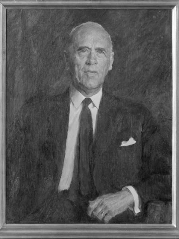 Ernst Wehtje (1891-1972), technology honorary doctor, industrialist, CEO of Skånska Cement AB, married to Britta Elfverson
