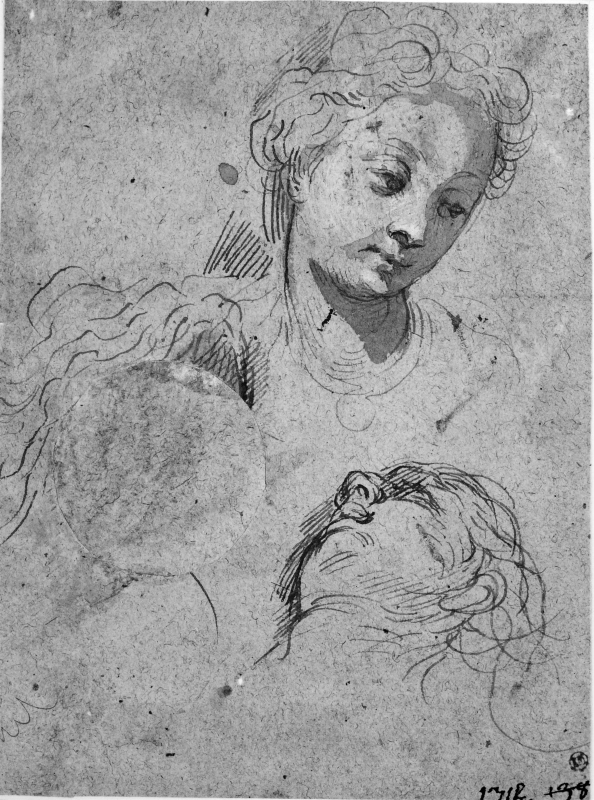 Two Studies of a Woman's Head