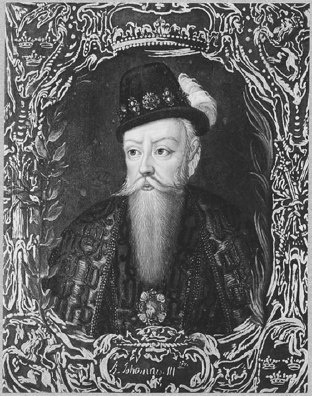 Johan III (1537-1592), kung of Sweden, married to 1. Katarina Jagellonica of Poland, 2. Gunilla Bielke