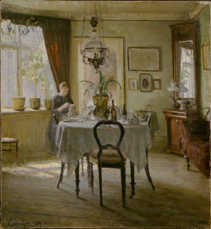 Sunlight in the Dining-room