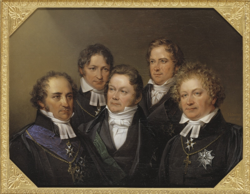 Five famous contemporary, 5 people