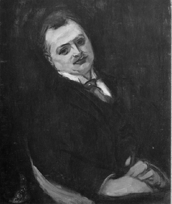 Reinhold Edstrand (1882-1923), director, art collector