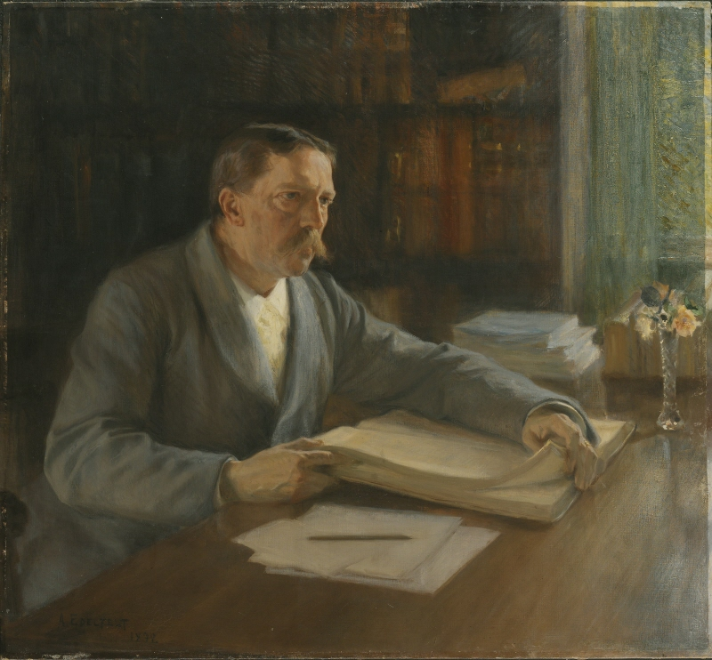 Viktor Rydberg, the Author