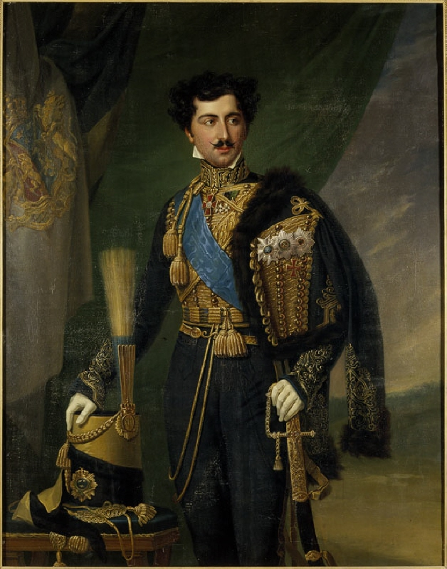 Oscar I (1799-1859), king of Sweden and Norway, married to Josefina of Leuchtenberg