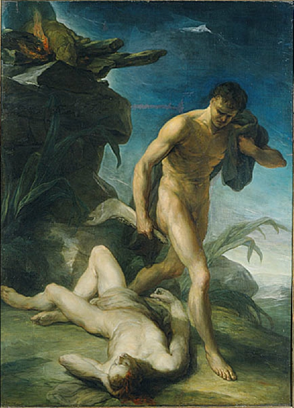 Cain and Abel. Allegory of Hatred