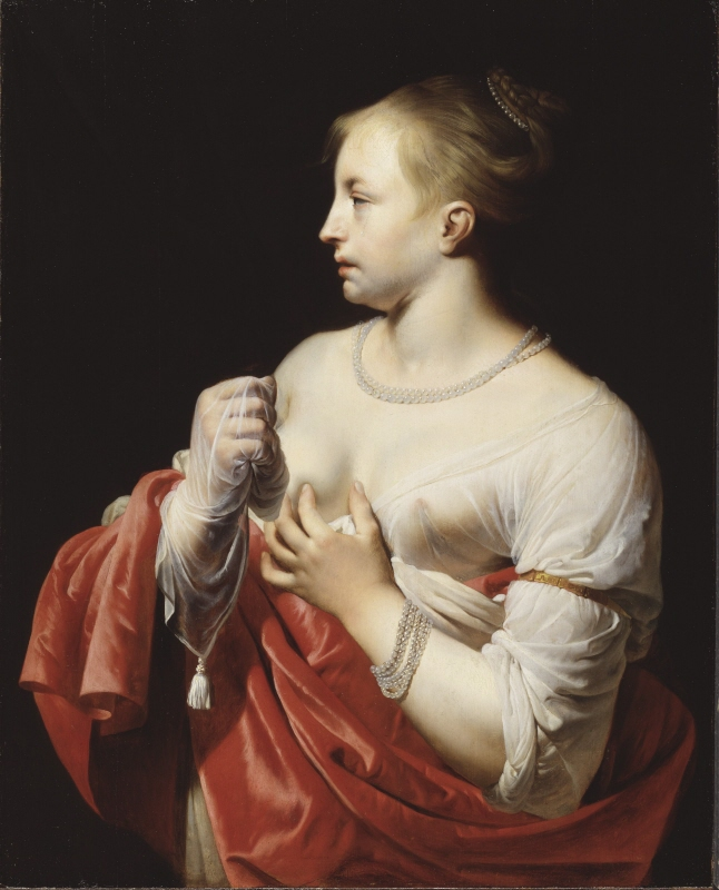 Female Figure, possibly Lucretia