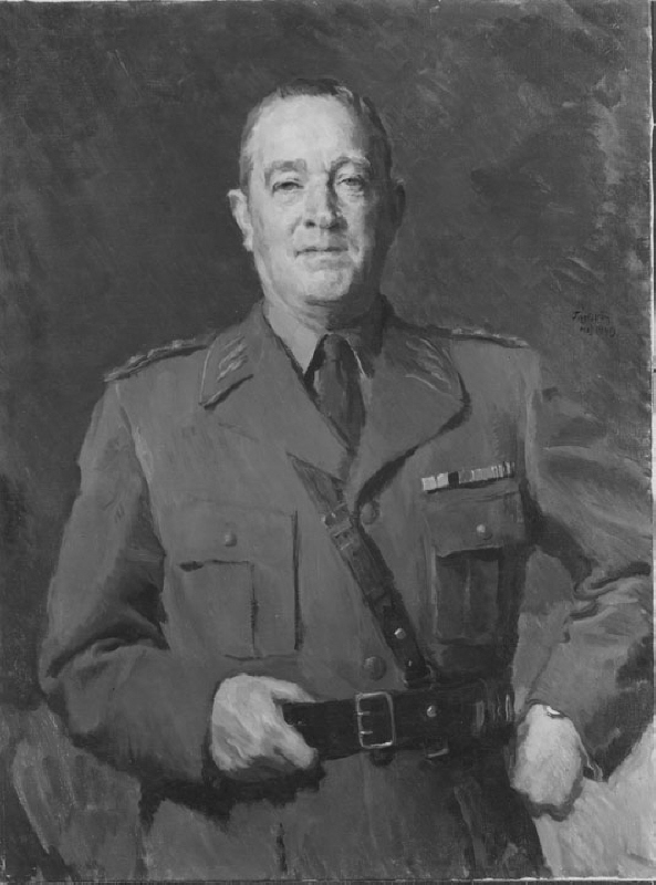 Helge Jung (1886-1978), general, commander in chief, married to 1. Ruth Wehtje, 2. Dagmar Bager